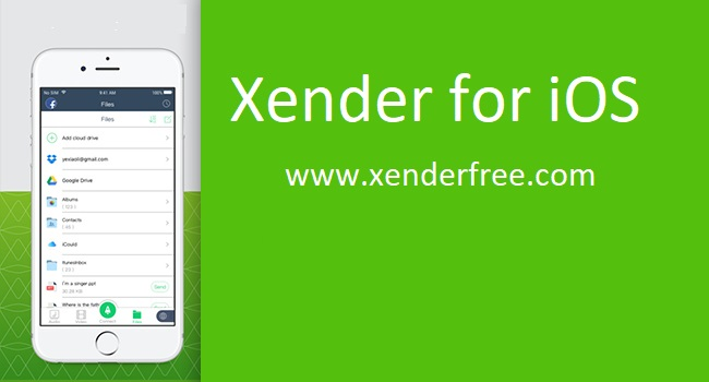 Xender App Download for iOS
